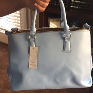 New baby blue bag